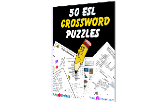 50 ESL Crosswords Image