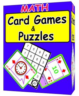 Teaching Materials for ESL, Math & Education - Math Card